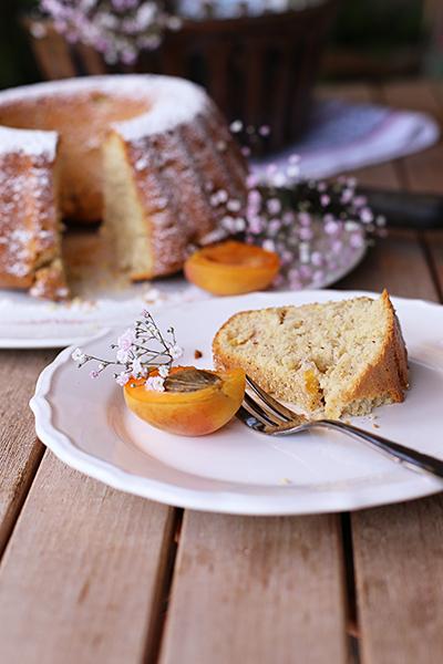 Rezept Pfirsich-Nektarinen-Guglhupf